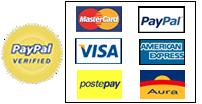 Paga con carte di credito
